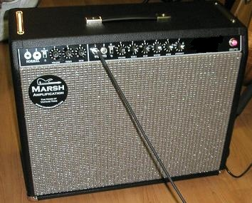 Marsh Big Texan Amp AB763 VV Combo 115 AB763 Combo