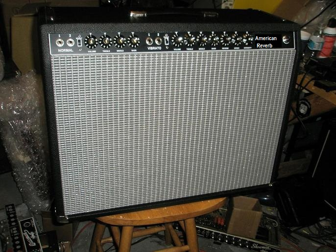 Marsh Patriot 85 Reverb Amp  AB763 212 80 Watt Combo