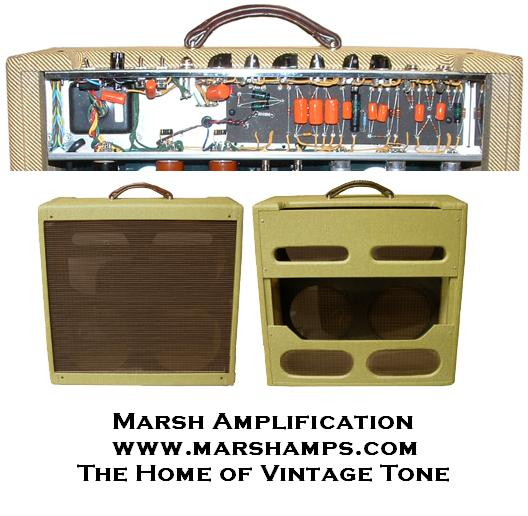 Marsh Tweed 5F6A 410 Combo Replica