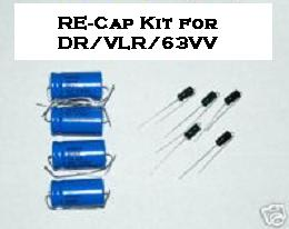 Deluxe Reverb/Vibrolux Reverb/63 Vibroverb Re-Cap Kit
