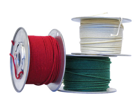 Wire - Marsh Amps White 18-Gauge Stranded (100 ft. spool)